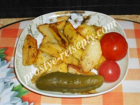 картошка по крестьянски