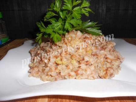 гречка с рисом
