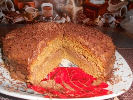 самый простой тортик