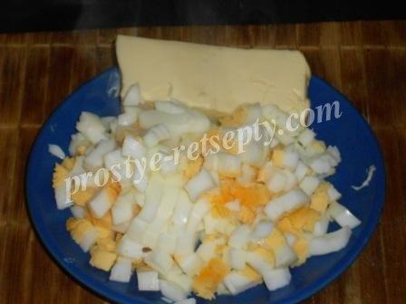 яйцо и масло