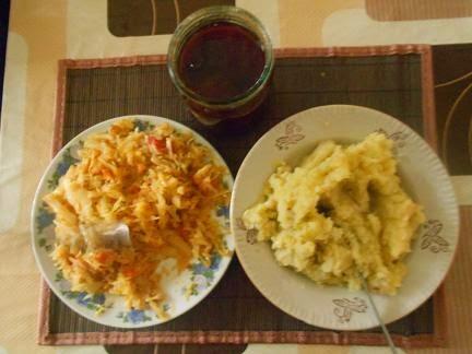 капуста и картошка для начинки