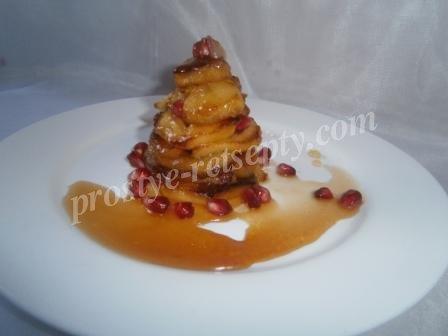 как карамелизировать яблоки для десерта