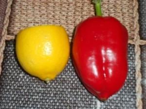перец и лимон