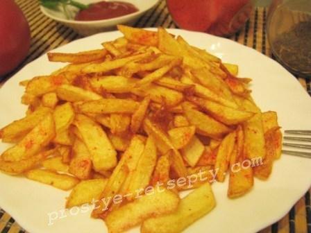 картошка фри рецепт с фото