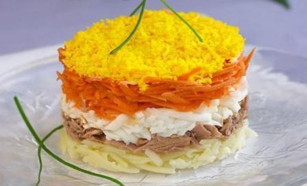 рецепт салат мимоза классический