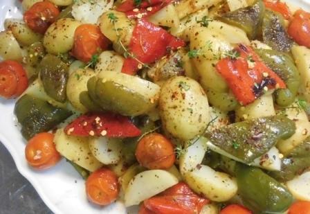салат с молодой картошкой