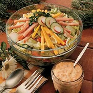 салат праздничный новогоднее меню