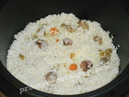 выложить рис