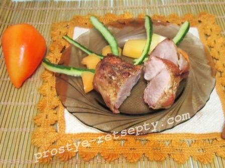 мясо индейки в духовке