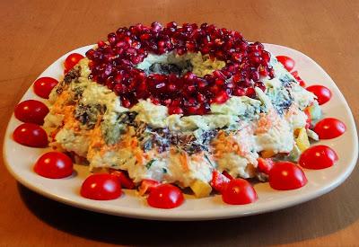 овощной красивый салат