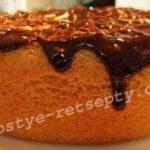 бисквитный пирог простой рецепт