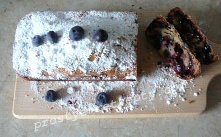 простой кекс в духовке