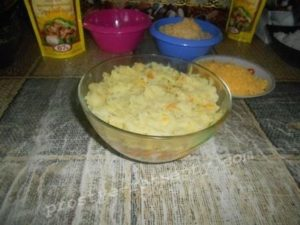 выложить картошку