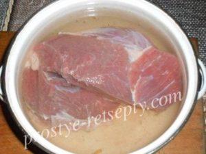 Буженина из говядины