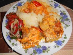 рыба жареная на сковороде