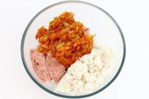 мясо, овощи, рис