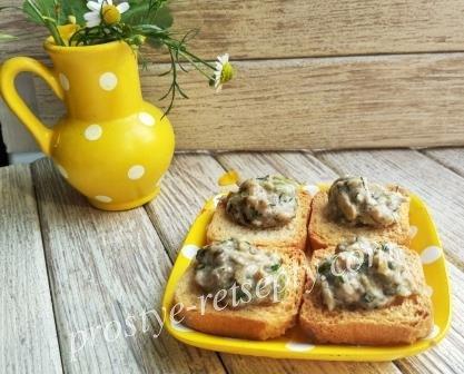 грибной соус с шампиньонами