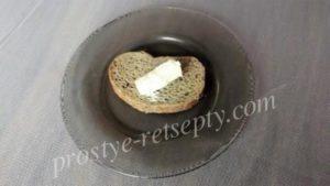Бутерброд с плавленым сыром