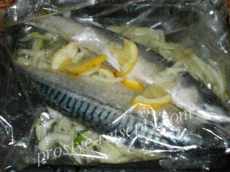 выложить рыбу