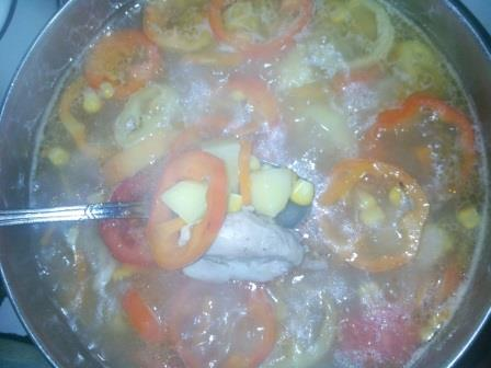 добавить в суп