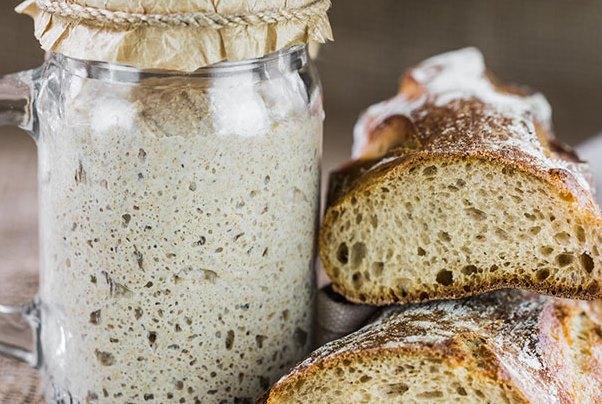 бездрожжевая закваска для хлеба