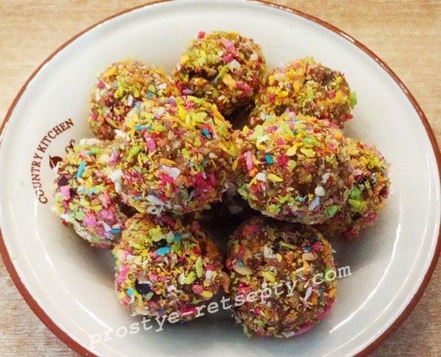 конфеты из фиников