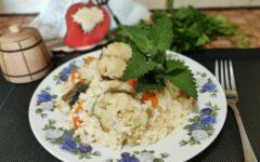 мерлуза с рисом